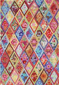 New Bordered Diamonds Quilt Fabric Pack
