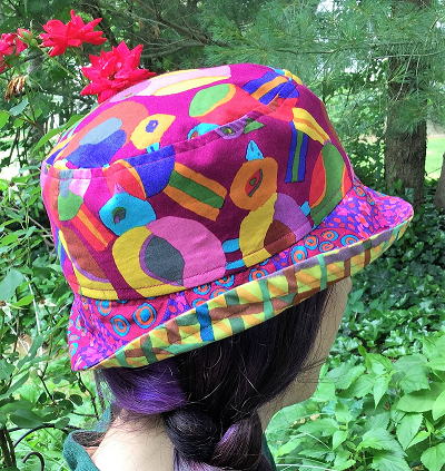 Purple Birding Hat