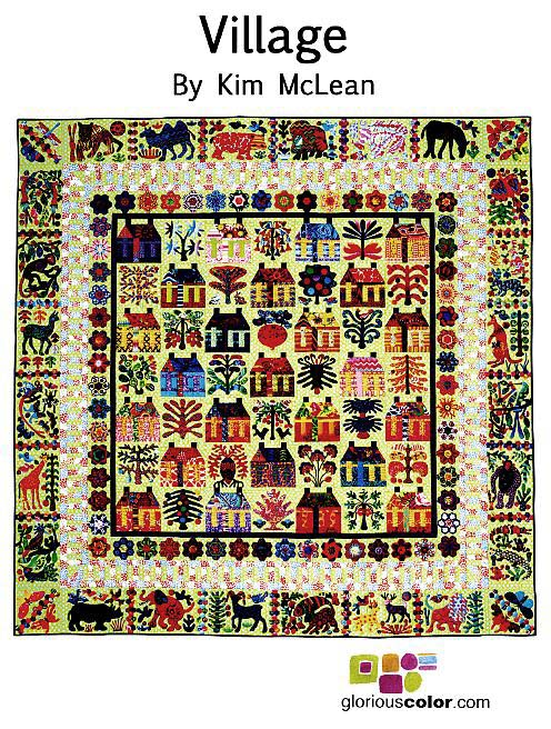 The Village Applique Pattern