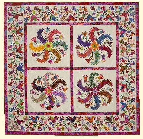 Princess Feathers Quilt 475x460