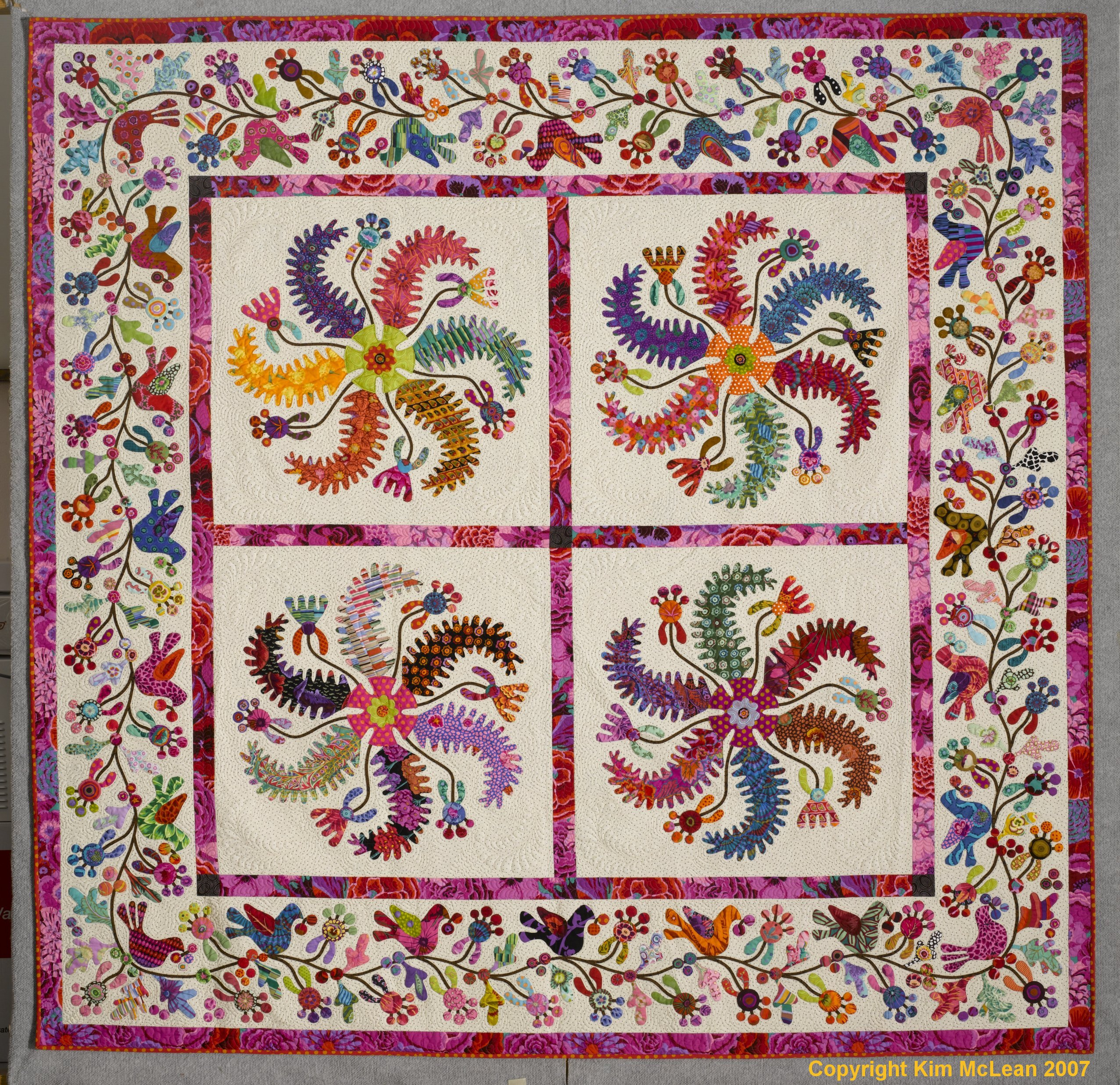 The Village From Glorious Color Quilt Fabric And Kits