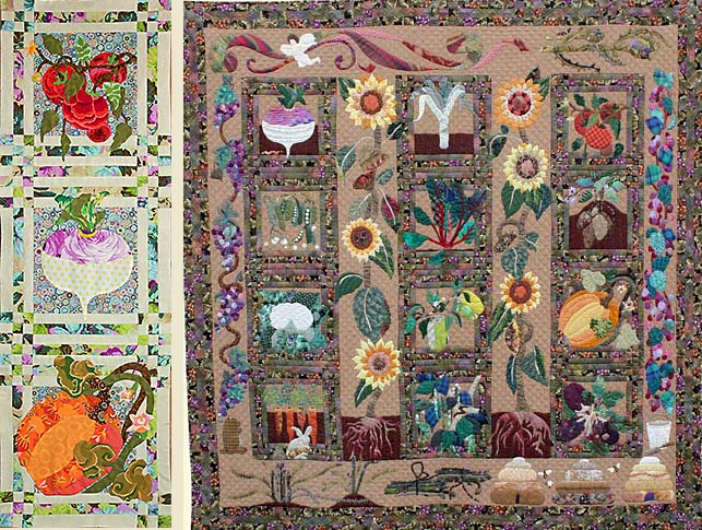 Victory Garden from Glorious Color quilt fabric and kits from