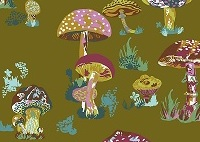 Nathalie Lete Beautiful Mushrooms Army